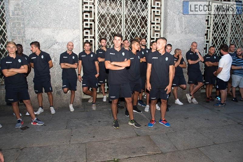 Calcio Lecco presentazione 2017 02