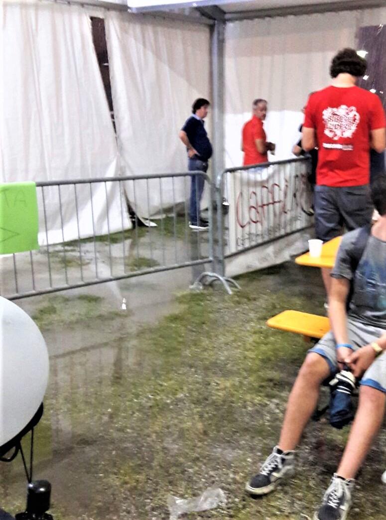 festa inondata