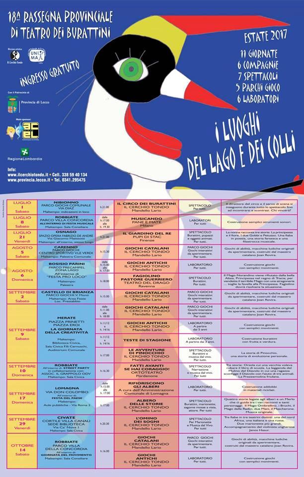 locandina festival lago e colli 2017