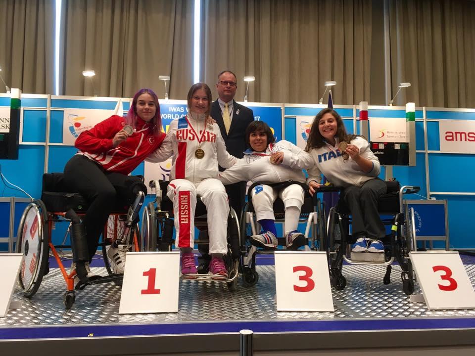 scherma sofia brunati - matilde spreafico - mondiali u17 podio