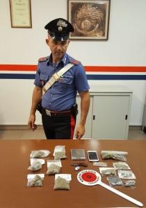 carabinieri spaccio Arresto NORM 28ago17 2