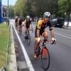 ciclisti fila indiana - prov lecco
