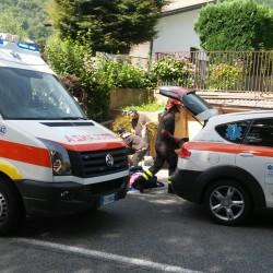incidente ballabio ambulanza 1