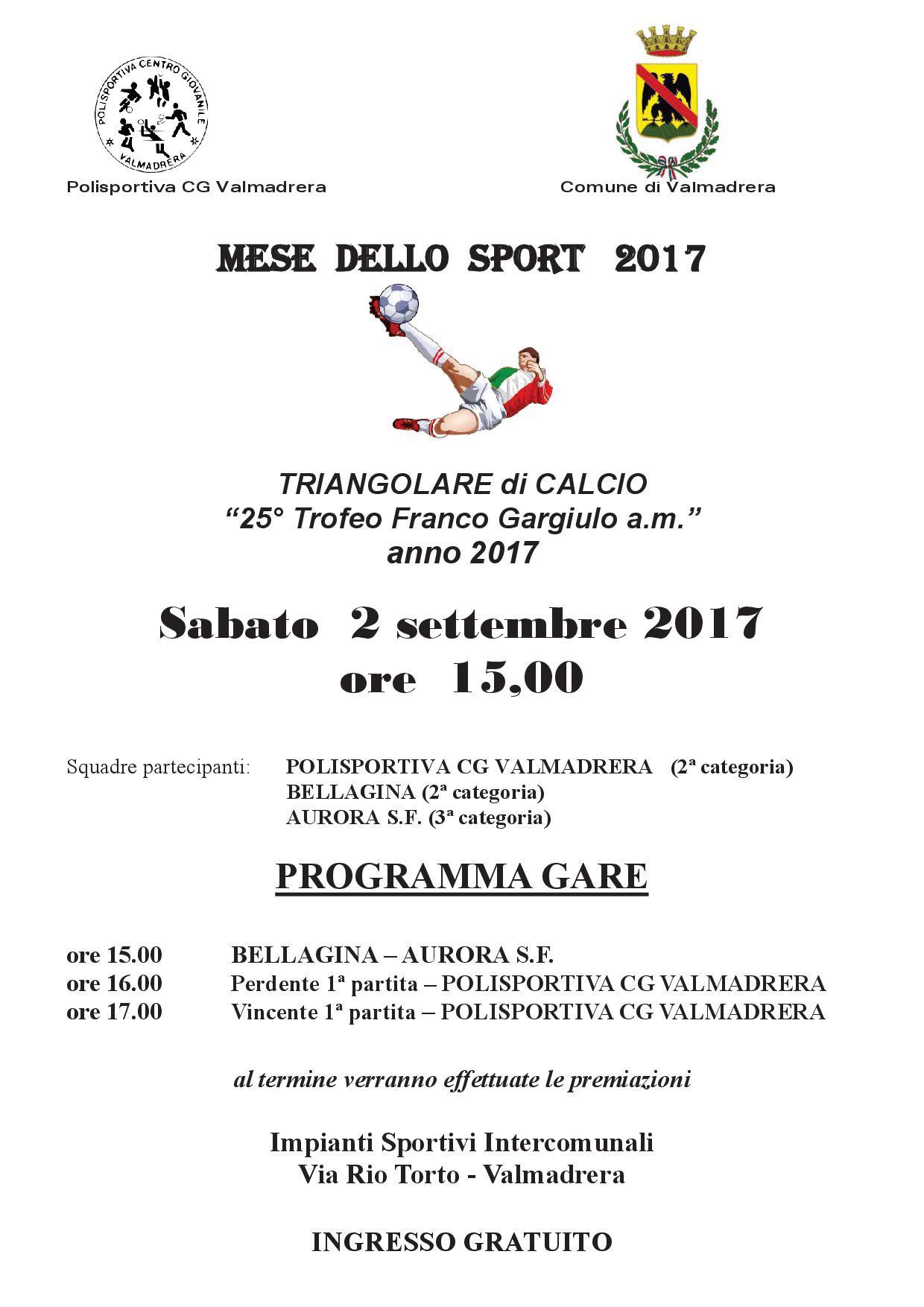 CALCIO/INIZIA LA STAGIONE DELLA POL. VALMADRERA, DOMENICA DEBUTTO A ...