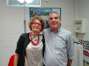 CGIL Francesca Seghezzi e Diego Riva