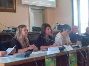 Da sinistra: Silvia Tantardini, Simona Piazza, Anna Anghileri