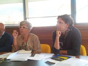 da sinistra: Giusy Spezzaferri e Filippo Guidi