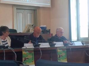 da sinsitra: Carmine De Lillo, assesore cultura Malgrate e Federico Bonifacio, presidente parco Monte Barro