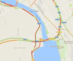incidente terzo ponte maps1