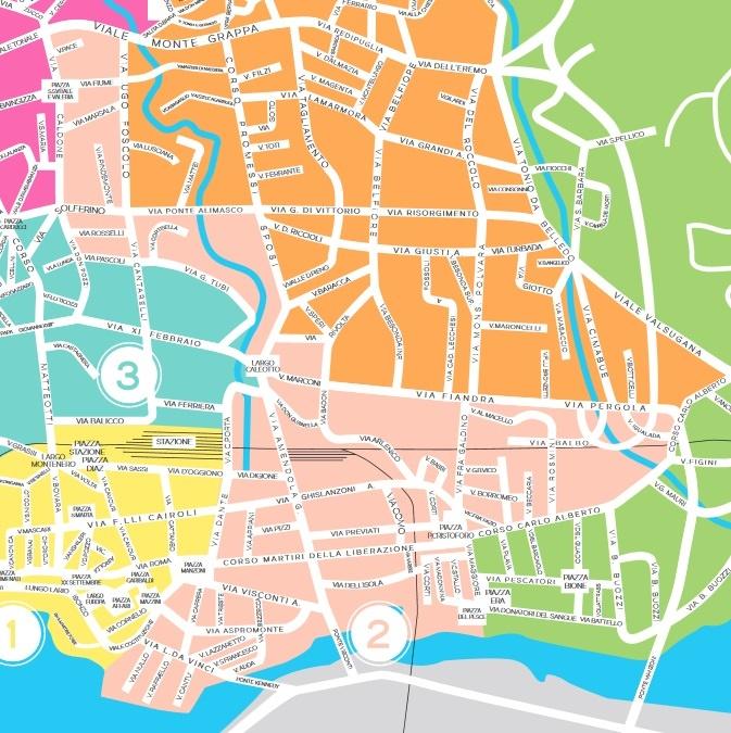 mappa_zona2_Lecco_raccolta_rifiuti
