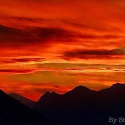 tramonto varenna