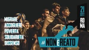 manifestazione migranti
