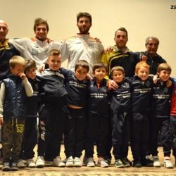 polisportiva valmadrera Scuola Calcio con Fabio Corti, Tano Anghileri e Fabio Cardinio