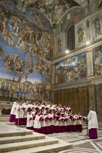 Cappella Musicale Pontificia Sistina con Giudizio Univ.