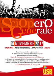 sciopero usb 10nov