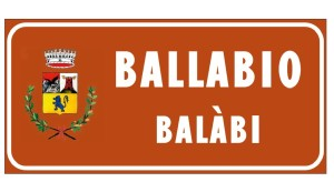 CARTELLO BALLABIO BALABI DIALETTO