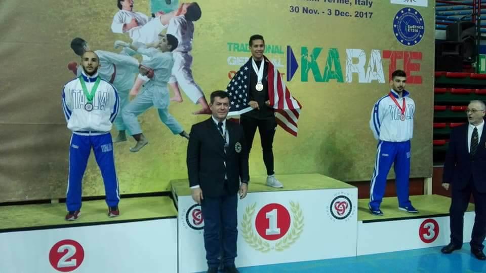 Luigi Faggiano Karate Mondiali (3)