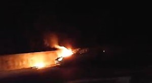 auto fiamme lecco ballabio 1