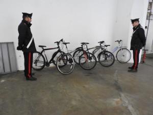 furto bici carabinieri