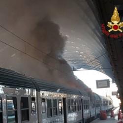 incendio treno milano centrale 2