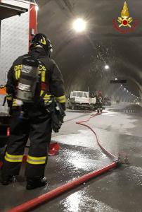 pompieri galleria VERT