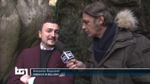 Bellano TCI TG1 Antonio Rusconi
