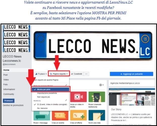 Facebook FB LN Mostra primi