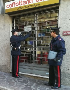 Ke post Calolziocorte - carabinieri licenza