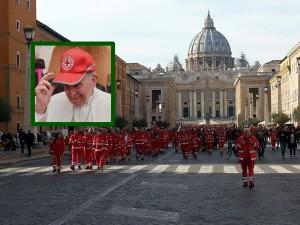croce rossa dal papa COP