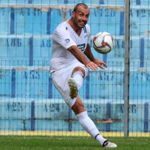 Fabio Cristofoli, autore del gol decisivo