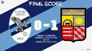 Lecco Lumezzane 0-1