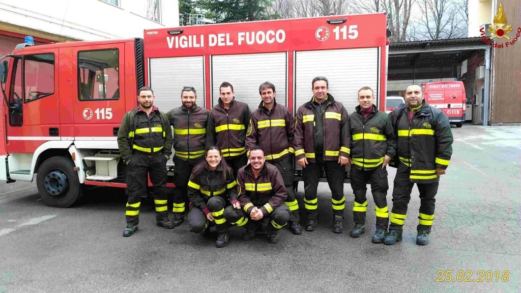 pompieri vigili del fuoco autisti