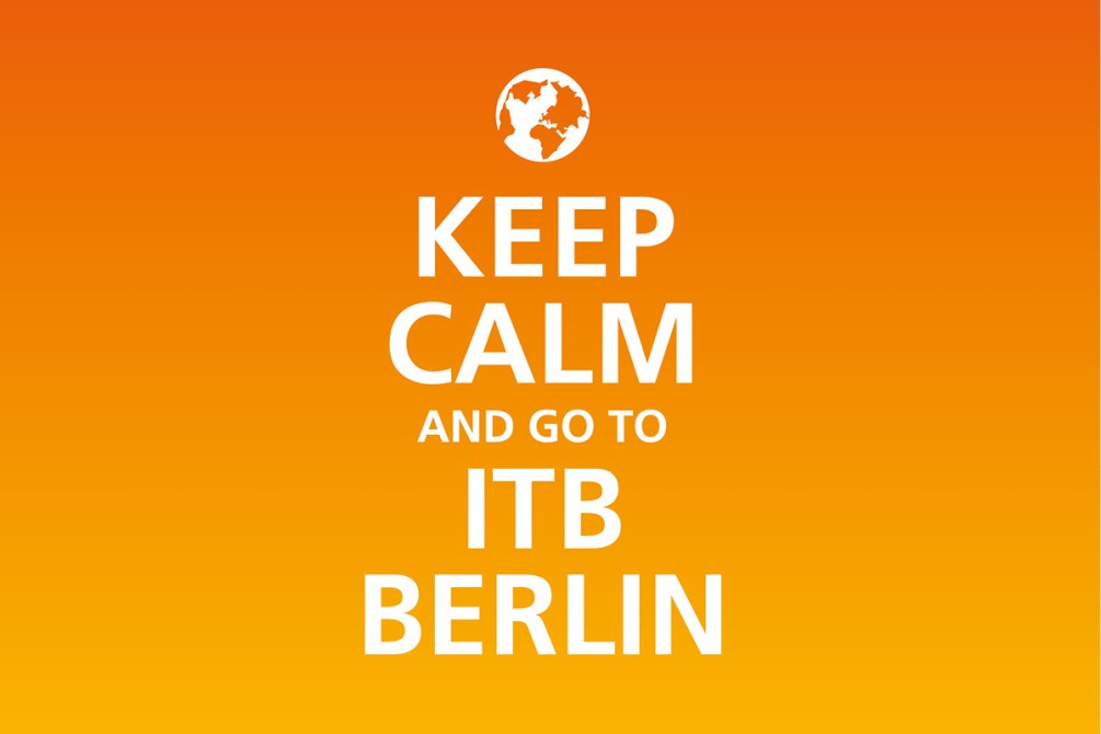 ITB fiera turismo BERLINO keep calm