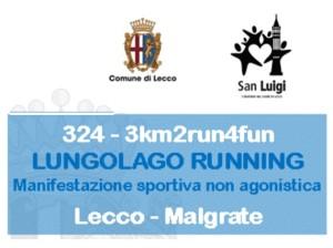 LUNGOLAGO RUNNING logo