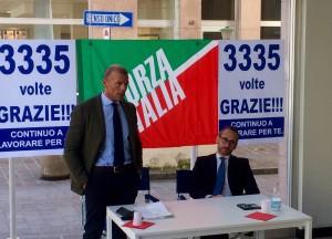 nava piazza forza italia lecco corso martiti regionali 2018