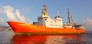 nave aquarius di sos mediterranee ong