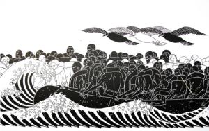 salavataggio migranti in mare qui lecco libera