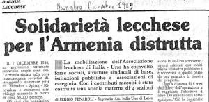 sindacati armenia 1989