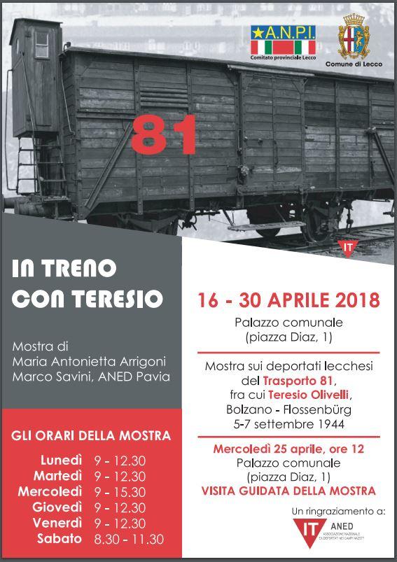 25 aprile 2018 lecco olivelli