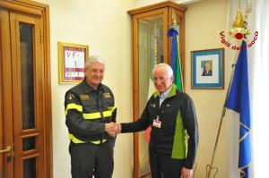 Vigili del fuoco FIRMA guide Gioacchino Giomi - Cesare Cesa Bianchi