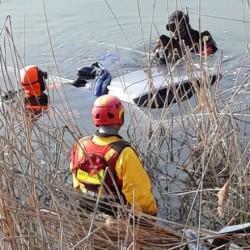auto lago annone galbiate pompieri vigili fuoco (2)