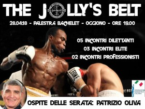 pugilato oggiono the jolly's belt
