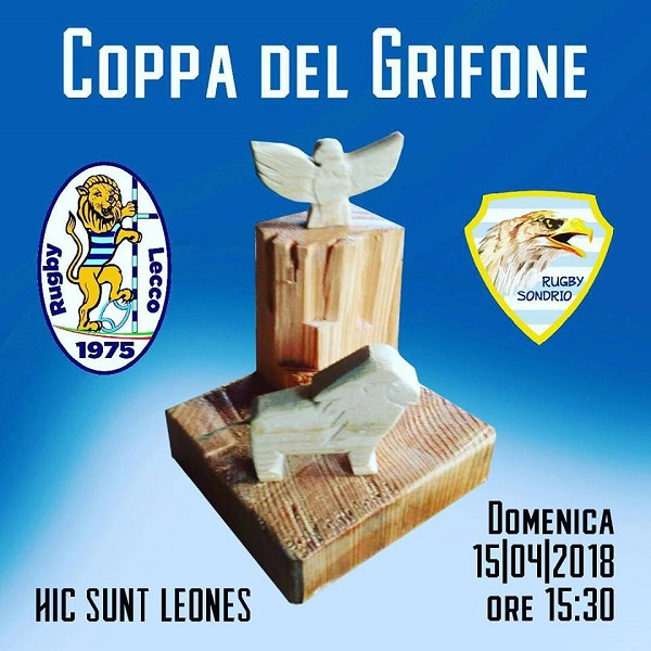 rugby lecco coppa grifone