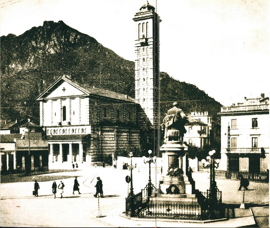 CHIESA-DELLA-VITTORIA-E-PIAZZA-MANZONI-LECCO-1940