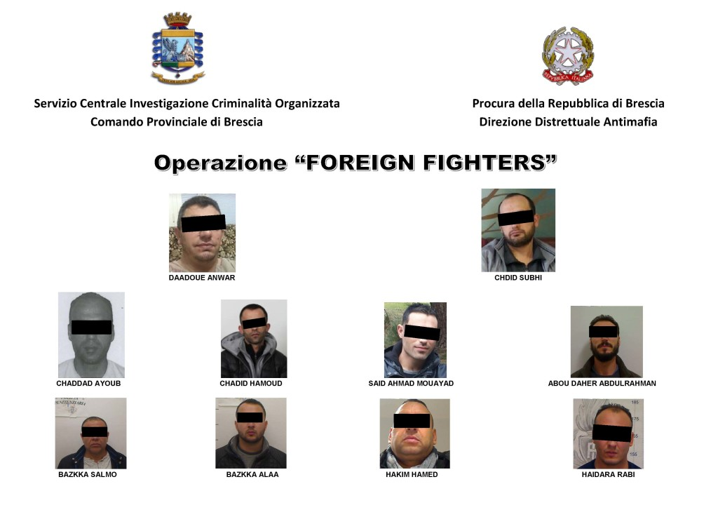 OPERAZIONE FOREIGN FIGHTERS_GdF