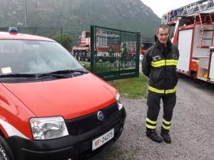 Orazio Secchi pompieri Lecco