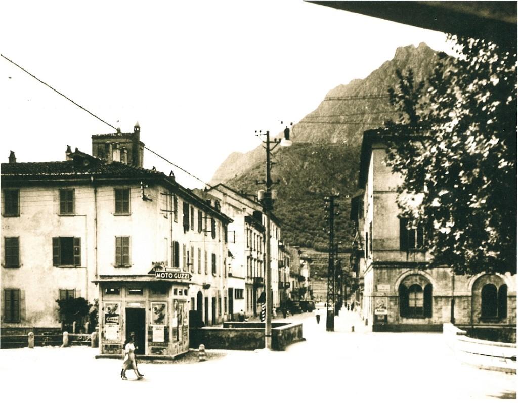 QUESTURA-LECCO Via Leonardo da Vinci e Questura, Lecco, fine anni '30