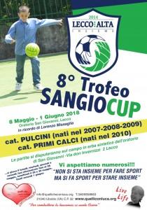 Sangio Cup 8 - Volantino 2018