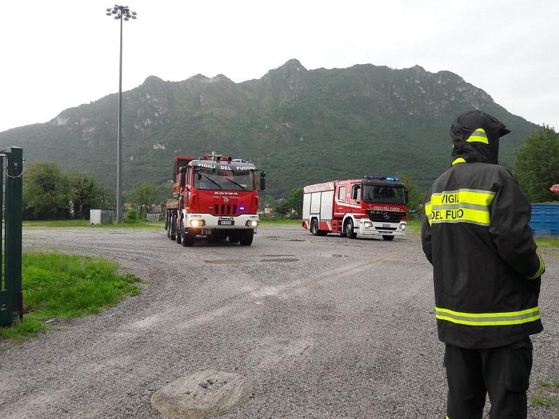 Vigili del fuoco Lecco