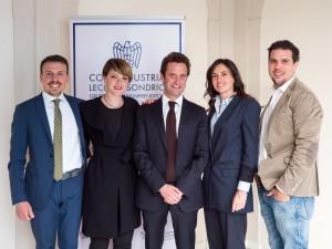 giovani confindustria Stefano Fumagalli, Barbara Bordoni, Giacomo Riva, Maria Anghileri, Lorenzo Mottolini